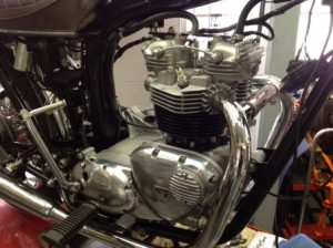 T140 Triumph Engine