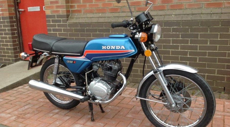 This Honda CB100N Has Come Into The Workshop For A Partial Restoration Brought To Us By Chap Having It Restored So He Can Give His Friends