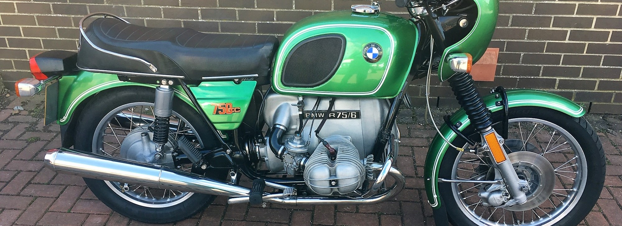 1975 BMW R75 after